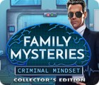 Family Mysteries: Criminal Mindset Collector's Edition тоглоом