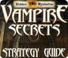 Hidden Mysteries: Vampire Secrets Strategy Guide тоглоом