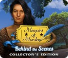Memoirs of Murder: Behind the Scenes Collector's Edition тоглоом